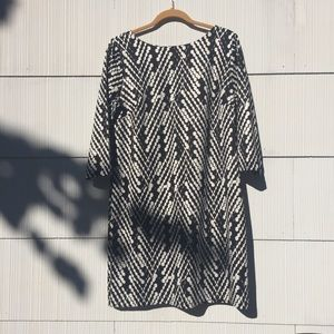THE LIMITED Black & White Dress